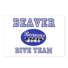 Beaver Dive Team Postcards (Package of 8)