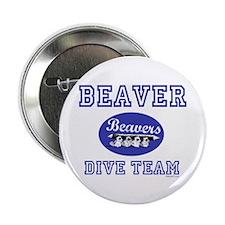 "Beaver Dive Team 2.25"" Button"