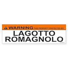 LAGOTTO ROMAGNOLO Bumper Bumper Sticker