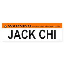 JACK CHI Bumper Bumper Sticker