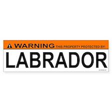 LABRADOR Bumper Bumper Sticker
