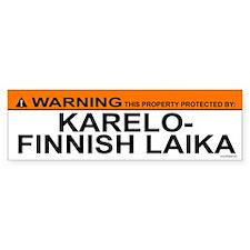 KARELO-FINNISH LAIKA Bumper Bumper Sticker