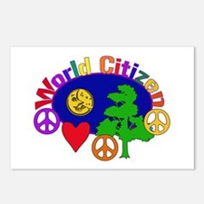 Citizen Of One World Postcards (Package of 8)