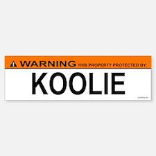 KOOLIE Bumper Bumper Bumper Sticker
