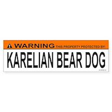 KARELIAN BEAR DOG Bumper Car Sticker