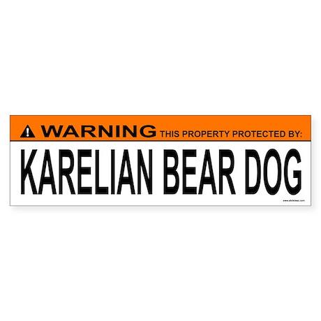 KARELIAN BEAR DOG Bumper Sticker