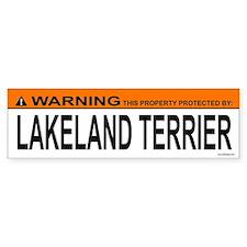 LAKELAND TERRIER Bumper Bumper Sticker