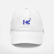 E=MC2 (blue) Baseball Baseball Cap