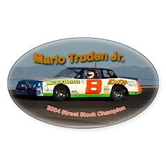 Mario Truden Jr.Oval Decal