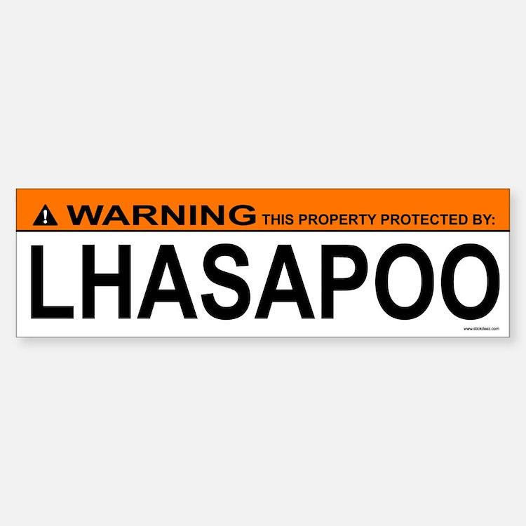 LHASAPOO Bumper Bumper Bumper Sticker