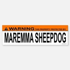 MAREMMA SHEEPDOG Bumper Bumper Bumper Sticker