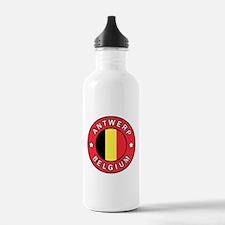 Antwerp Belgium Water Bottle