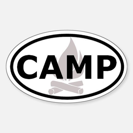 Camp Oval Decal Oval Decal