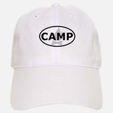 Camp Oval Sticker Baseball Baseball Cap