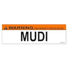 MUDI Bumper Bumper Sticker