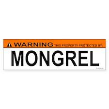 MONGREL Bumper Bumper Sticker