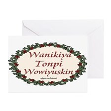 LAKOTA MERRY CHRISTMAS Greeting Cards (Pk of 20)