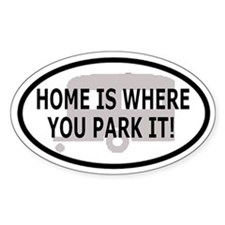 Home Oval Decal 1 Oval Decal