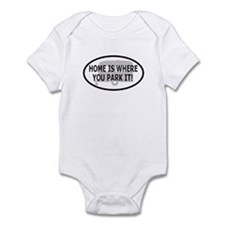 Home Oval Sticker 1 Infant Bodysuit