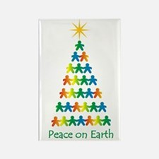 Peace on Earth Rectangle Magnet