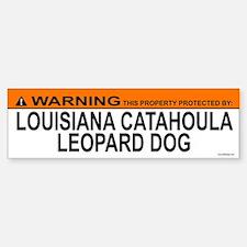 LOUISIANA CATAHOULA LEOPARD DOG Bumper Bumper Bumper Sticker