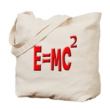 E=MC2 (red) Tote Bag