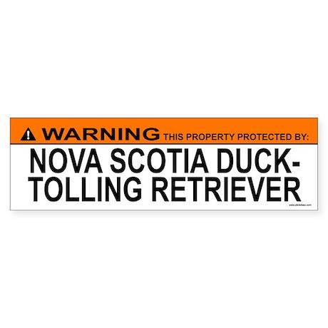 NOVA SCOTIA DUCK-TOLLING RETRIEVER Sticker (Bumper