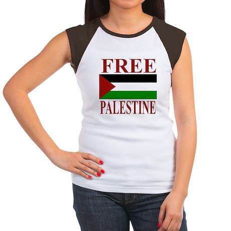 Palestine Women's Cap Sleeve T-Shirt