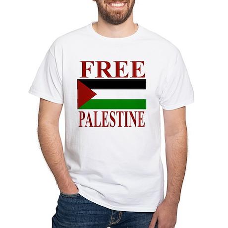 Palestine White T-Shirt