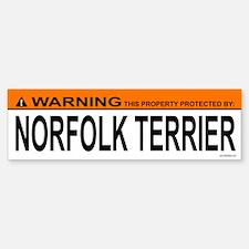 NORFOLK TERRIER Bumper Bumper Bumper Sticker