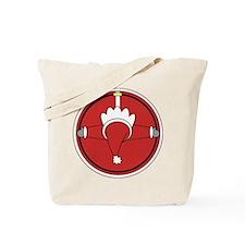 Santa Claus Top Tote Bag