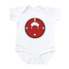 Santa Claus Top Infant Bodysuit