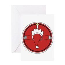 Santa Claus Top Greeting Card