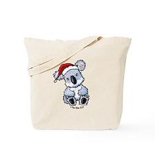 Christmas Koala Tote Bag