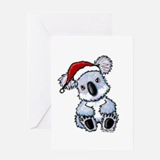 Christmas Koala Greeting Card