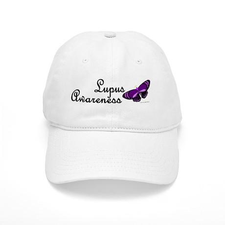 Butterfly Awareness 4 (Lupus) Cap