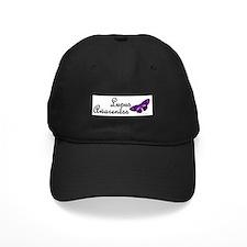 Butterfly Awareness 4 (Lupus) Baseball Cap
