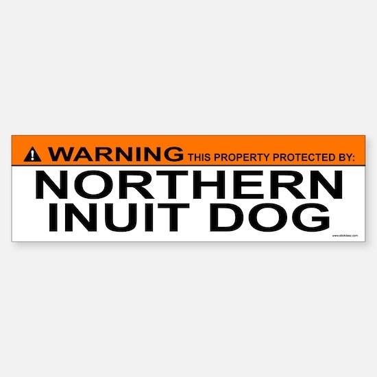 NORTHERN INUIT DOG Bumper Bumper Bumper Sticker