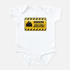 Warning Urban Planner Infant Bodysuit