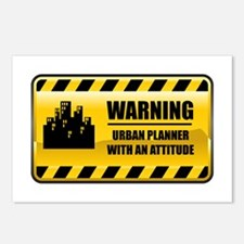 Warning Urban Planner Postcards (Package of 8)
