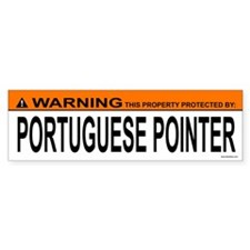 PORTUGUESE POINTER Bumper Bumper Sticker