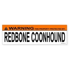 REDBONE COONHOUND Bumper Bumper Sticker