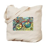 Bicycle Canvas Totes