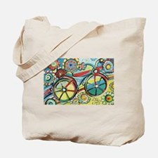 Cute Bicycle Tote Bag