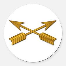Sf Branch Wo Txt Round Car Magnet