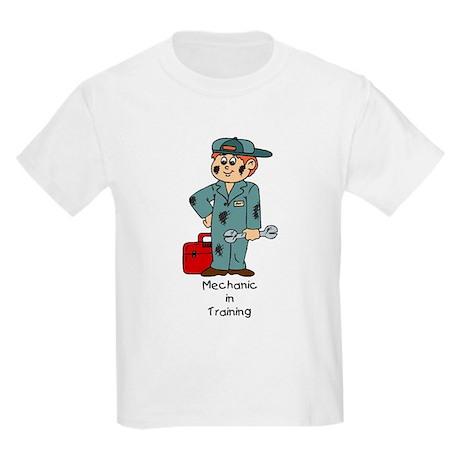 Mechanic In Training Kids Light T-Shirt