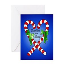 Together for Always Christmas Greeting Card
