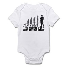 Evolution - My Army Bro-n-Law Infant Bodysuit