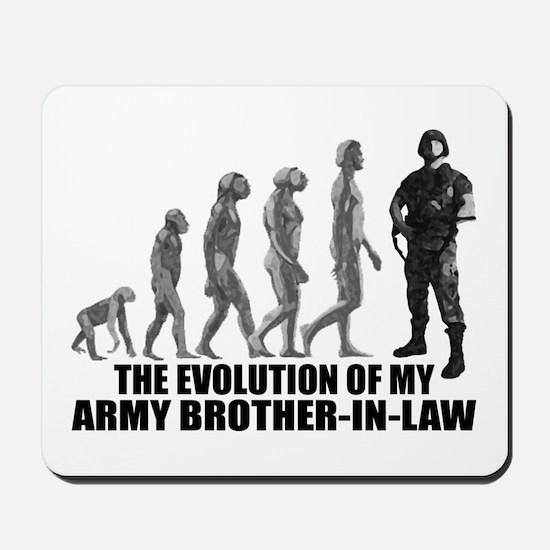 Evolution - My Army Bro-n-Law Mousepad
