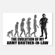 Evolution - My Army Bro-n-Law Postcards (Package o